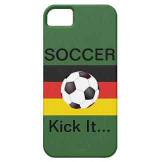 German Soccer Kick It... iPhone SE/5/5s Case