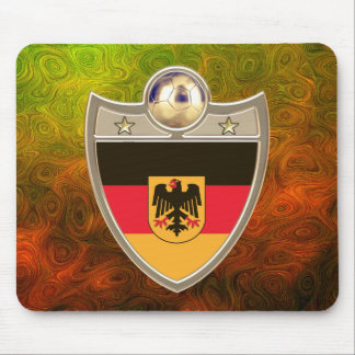 German Soccer Mouse Pad
