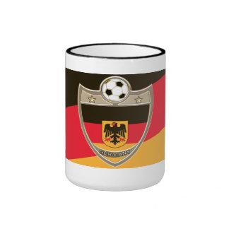 German Soccer Ringer Mug