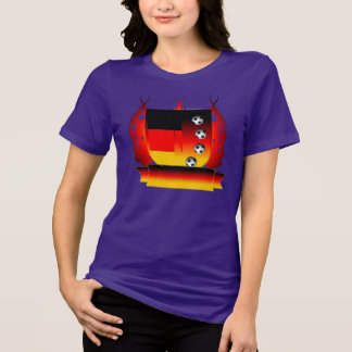 German Soccer Shield3 Ladies Plus Size T-Shirt