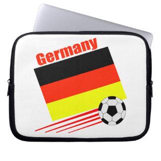 German Soccer Team Laptop Computer Sleeves