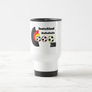 german soccer travel mug