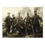 German Soldiers Postcard