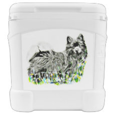 German Spitz Rolling Cooler