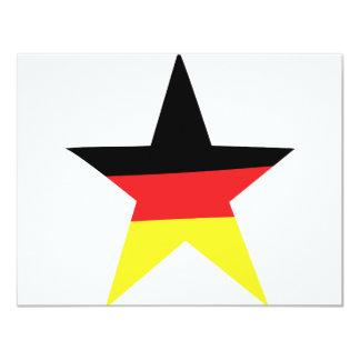 german star icon card