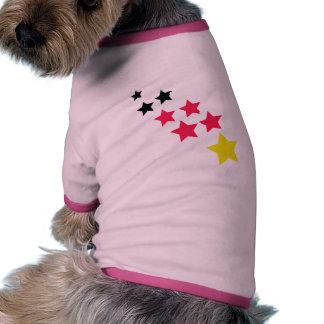 german stars doggie t shirt