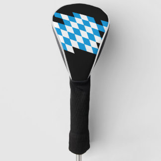 GERMAN STATE OF BAVARIA Flag Colors Golf Head Cover