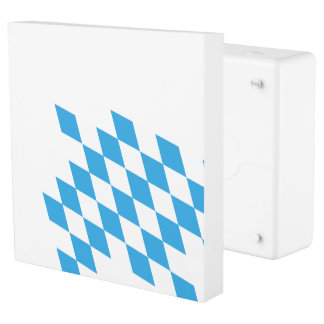 GERMAN STATE OF BAVARIA Flag Colors Outlet Cover
