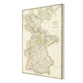 German States Canvas Print