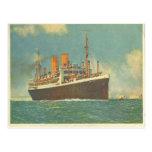 German Steamer Dresden off of England Post Card