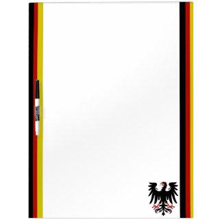 German stripes flag Dry-Erase board