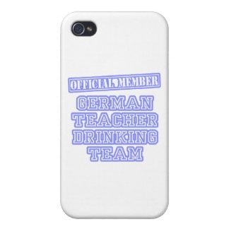 German Teacher Drinking Team iPhone 4/4S Case