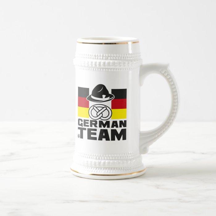 GERMAN TEAM 2 BEER STEIN