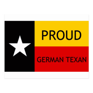 German Texan - German-American Postcard