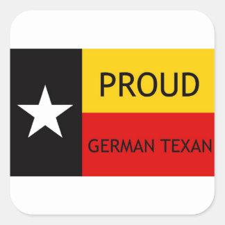 German Texan - German-American Square Sticker
