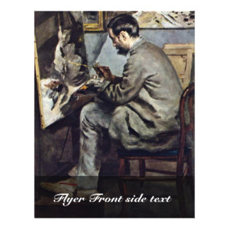 German:, The Bazille Painting In The Studio Flyers