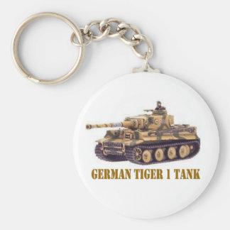 GERMAN TIGER 1 TANK KEYCHAIN