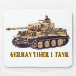 GERMAN TIGER 1 TANK MOUSE PAD