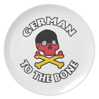 German To The Bone Dinner Plate