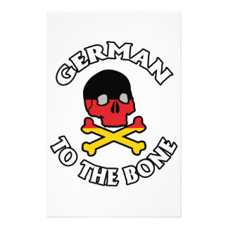 German To The Bone Stationery