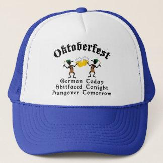 German Today Shirtfaced Tonight Trucker Hat