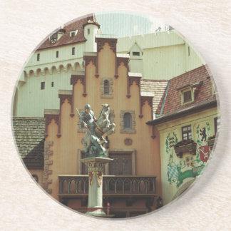 German Town Sandstone Coaster