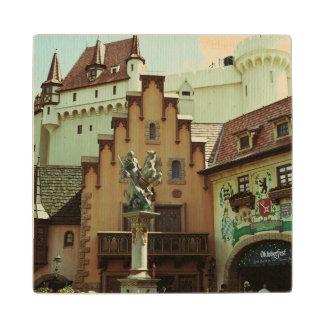 German Town Wood Coaster
