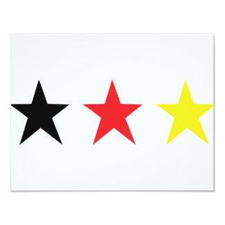 german triple star icon card