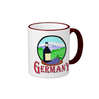 German vineyards mugs
