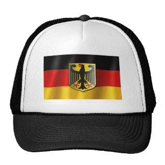 German waving flag trucker hat