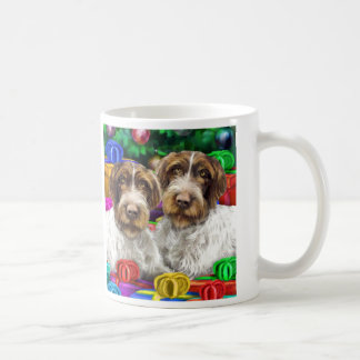 German WH Pointer Open Gifts Christmas Classic White Coffee Mug