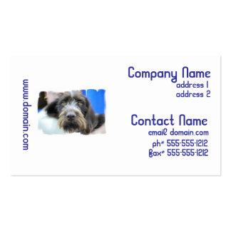 German Wire Haired Pointer Business Cards