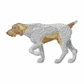 German Wirehair Pointer Embroidered Track Jacket