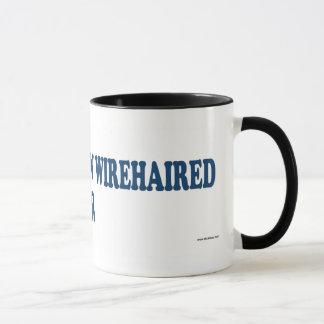 German Wirehaired Pointer Blue Mug