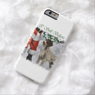 German Wirehaired Pointer Christmas Barely There iPhone 6 Case