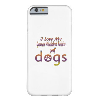 German Wirehaired Pointer designs Barely There iPhone 6 Case