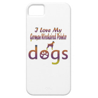 German Wirehaired Pointer designs iPhone SE/5/5s Case