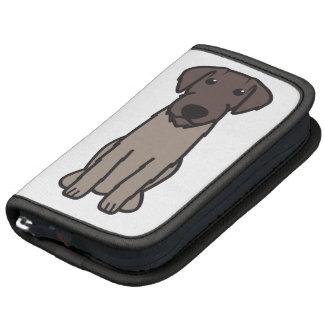 German Wirehaired Pointer Dog Cartoon Planner