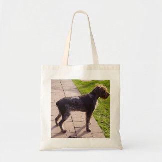 German_Wirehaired_Pointer full.png Tote Bag