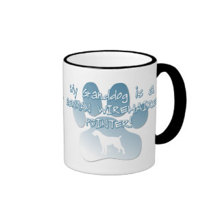 German Wirehaired Pointer Granddog Coffee Mug