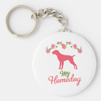 German Wirehaired Pointer Key Chains