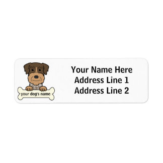 German Wirehaired Pointer Return Address Labels
