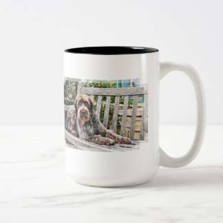 German Wirehaired Pointer - Lexy Coffee Mug