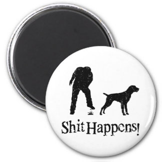 German Wirehaired Pointer Fridge Magnets