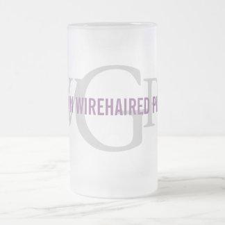 German Wirehaired Pointer Monogram Coffee Mug