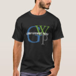German Wirehaired Pointer Monogram T-Shirt