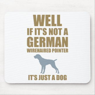 German Wirehaired Pointer Mouse Pad