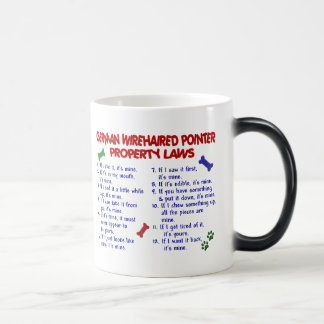 GERMAN WIREHAIRED POINTER Property Laws 2 11 Oz Magic Heat Color-Changing Coffee Mug