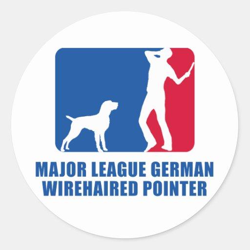 German Wirehaired Pointer Sticker