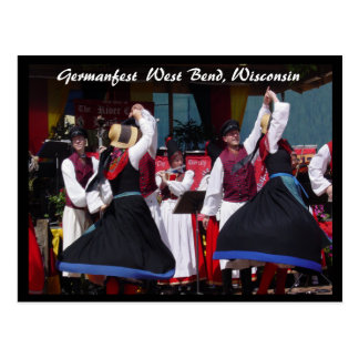 Germanfest Postcard